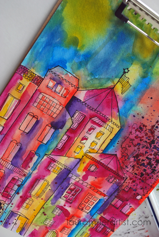 2dreamy-watercolors-urbanscape